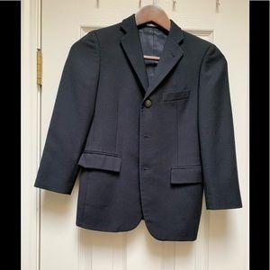 Hickey Freeman boys navy sport coat
